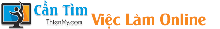 Cần Tìm Việc Làm Online – Cẩm Nang Tuyển Dụng – Bài Học Thành Công